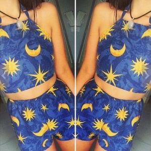 Pants - Sun and the Moon Coachella Two Piece